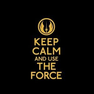 Keep Calm and Use the Force Decal