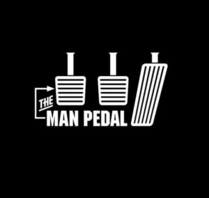 The Man Pedal Truck Decals