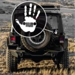 Jeep Wave Hand Jeep Jeep Decal Stickers