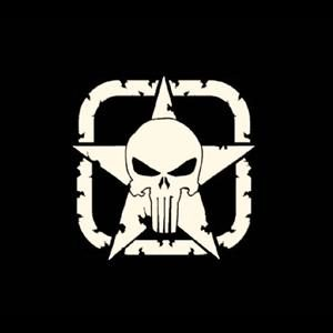 Punisher Jeep Star Decal Sticker