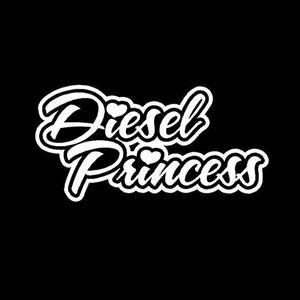 Diesel Princess Truck Decals