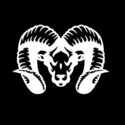 Dodge Ram Head III Decal Classic