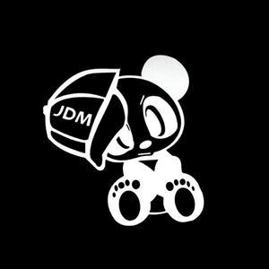 JDM Panda Bear Decal Sticker