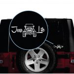 Jeep Life Jeep Decal Stickers A2