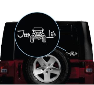 jeep life window decal sticker a2