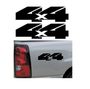 4X4 Truck Bedside Decal Pair A3
