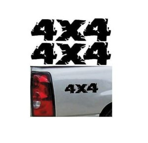 4X4 Truck Bedside Decal Pair A6