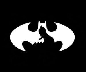 BATMAN Shadow Decal Sticker