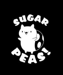CATBUG Sugar Peas Bravest Warriors Decal Sticker