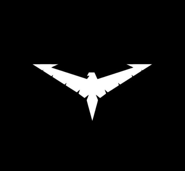 Nightwing Chest Symbol Vinyl Decal Stickers