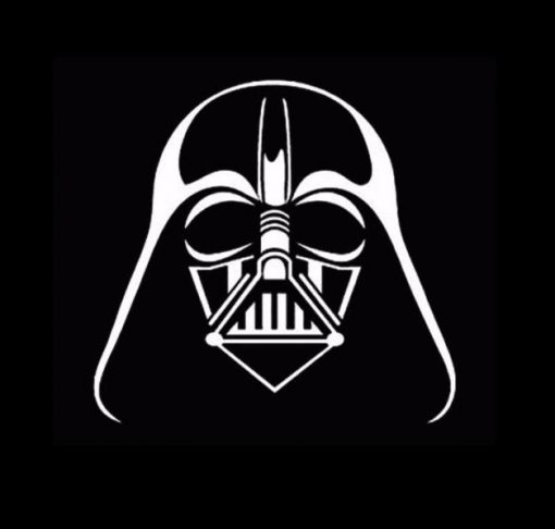 Darth Vader Car Decal Sticker A4