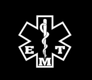 EMT Star Of Life Decal Sticker A3
