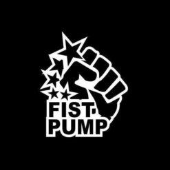 Fist Pump Decal Sticker