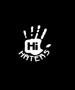 Hi Haters JDm Decal Sticker