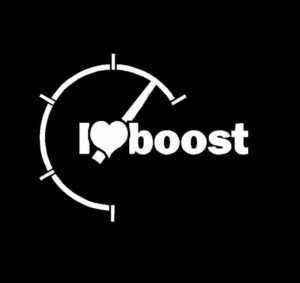 I Love Boost JDM Decal Sticker