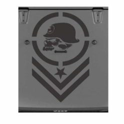 jeep metal mulisha bars hood decal sticker
