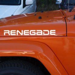 Jeep Renegade Hood Decal Set