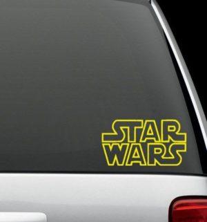 Star Wars Decal Sticker