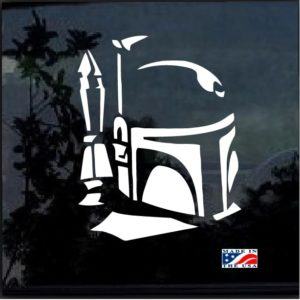 star wars boba fet window decal sticker