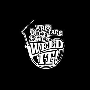 """4/"""" Weld-it vinyl decal"""