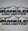 Jeep Wrangler Unlimited Hood Decal Set