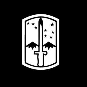 172nd Stryker Brigade Decal Sticker