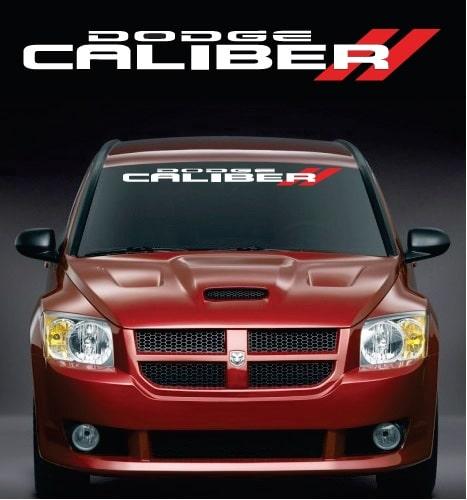 Dodge Caliber Windshield Banner Decal Sticker