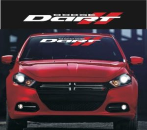 Dodge Dart windshield banner decal sticker a9