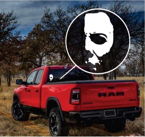 Michael Myers Horror Window Decal Sticker a3