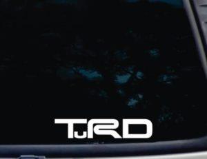 Toyota TRD TuRD decal sticker