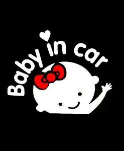 Baby in car Baby On Board Sign II