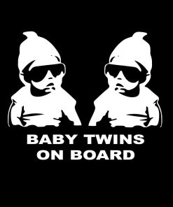 Hangover Carlos Twins Baby On Board Sign