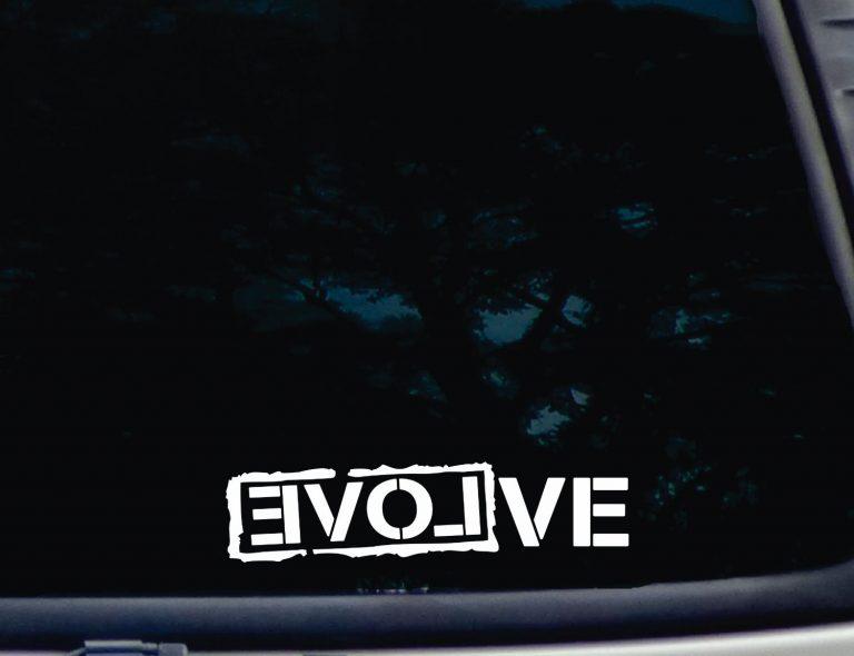 Evolve Decal Sticker