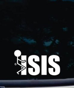 Fuck ISIS Decal Sticker a3