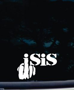Fuck ISIS Decal Sticker a2