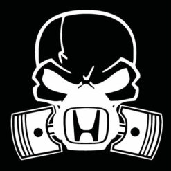 Honda skull mask JDM Decal Sticker