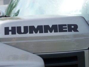 Hummer H2 H3 Breather Vinyl Decal Sticker
