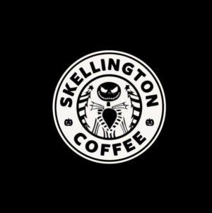 Jack Skellington Coffee Decal Sticker