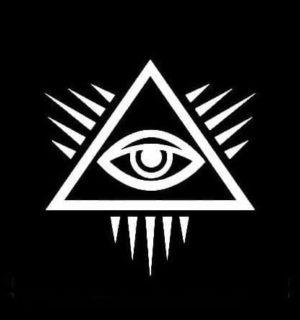 Mason Masonic Eye Pyramid Decal Sticker