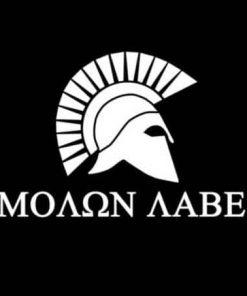 Molon Labe Spartan Vinyl Decal Stickers