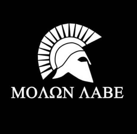 Molon Labe Spartan Vinyl Decal Stickers