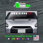 NISMO JDM Vinly Window Windshield Banner Decal Sticker