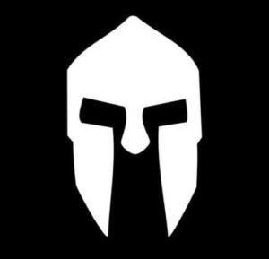 Spartan Helmet Decal Sticker