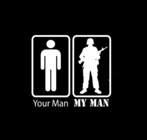 Your Man My Man Military Decal Sticker