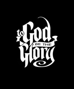 God be the Glory decal sticker