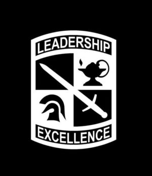 Army ROTC Leadership Excellence Decal