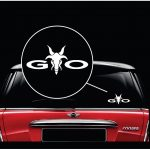 GTO Angry Goat Window Decal Sticker A2