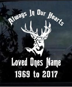 In Loving Memory of Decals