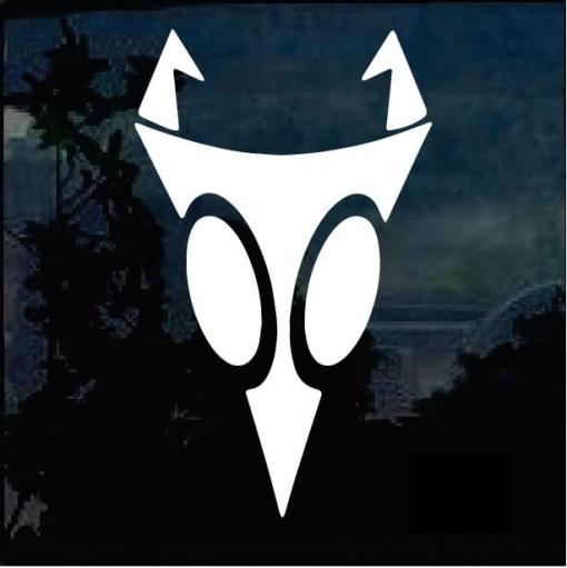 Invader Zim Irken Symbol Decal Sticker