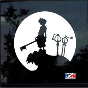Kingdom Hearts Window Decal Sticker